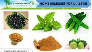 Home Remedies For Diabetes Mellitus Management - Herbal Treatment