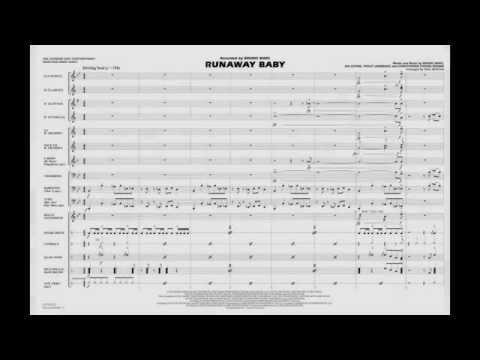 Runaway Baby arranged by Paul Murtha