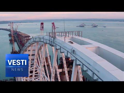 Second Arch of Massive New Crimea - Russia Bridge Completed