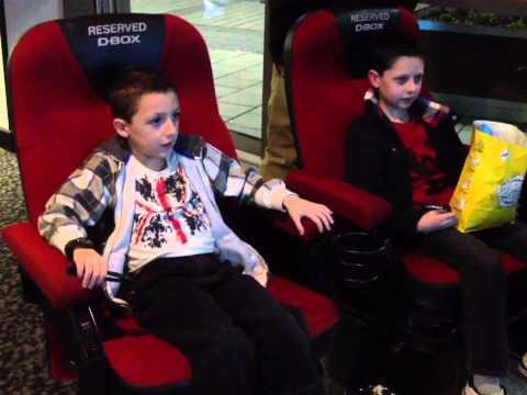 D-BOX Seats Cineworld