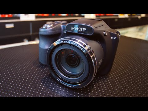 Minolta MN35Z Hands-On and Opinion - YouTube