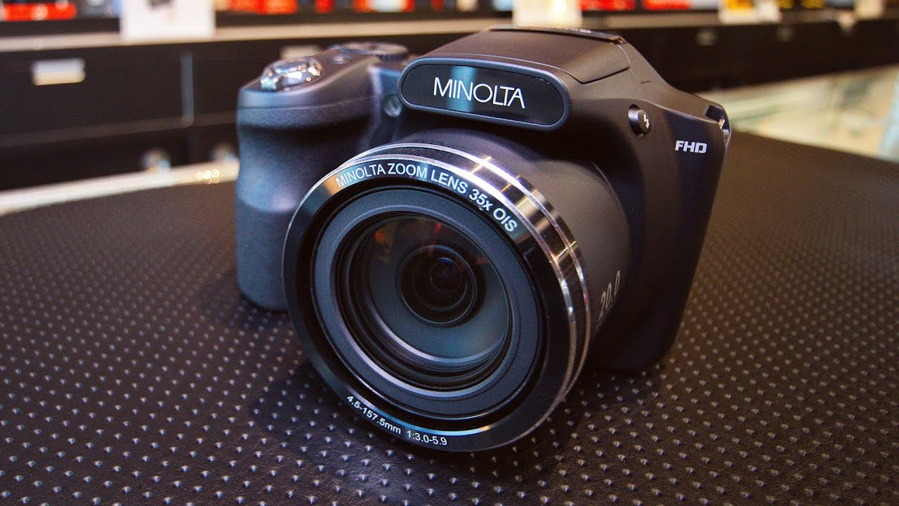 Minolta MN35Z Hands-On and Opinion