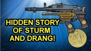 Destiny 2 Lore Sturm and Drang's Hidden Story