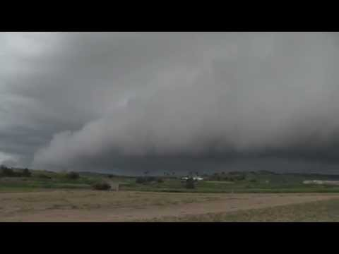 Menacing Arcus cloud above Rabat - Malta