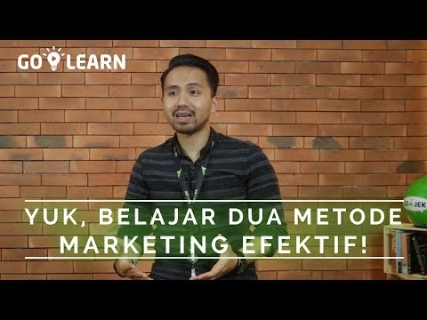 ▸▸ YUK, BELAJAR DUA METODE MARKETING EFEKTIF! // Bayu Ramadhan 💡 GO-LEARN