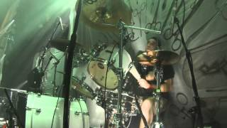 Dan Wilding - Carcass - Cadaver Pouch Conveyor System - Live In Dublin - Drum Cam