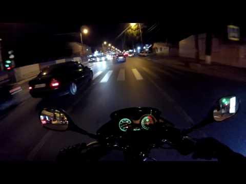 Про езду на мотоцикле. Езда в дождь.