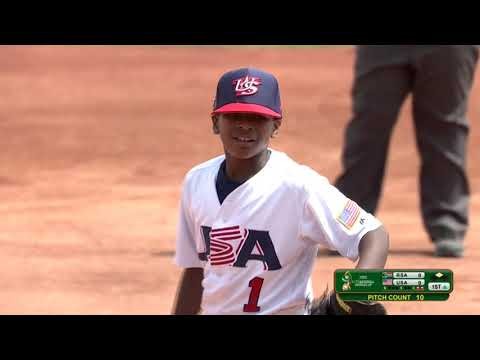 South Africa V USA - U-12 Baseball World Cup 2019 - Placement Round
