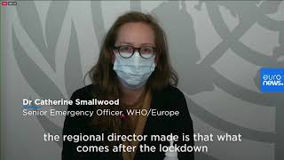 'Don't waste' COVID-19 lockdowns, WHO Europe warns, as region is pandemic epicentre again