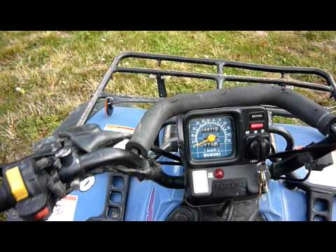 suzuki navigation wiring diagram 1991 suzuki quad runner 300 4wd youtube