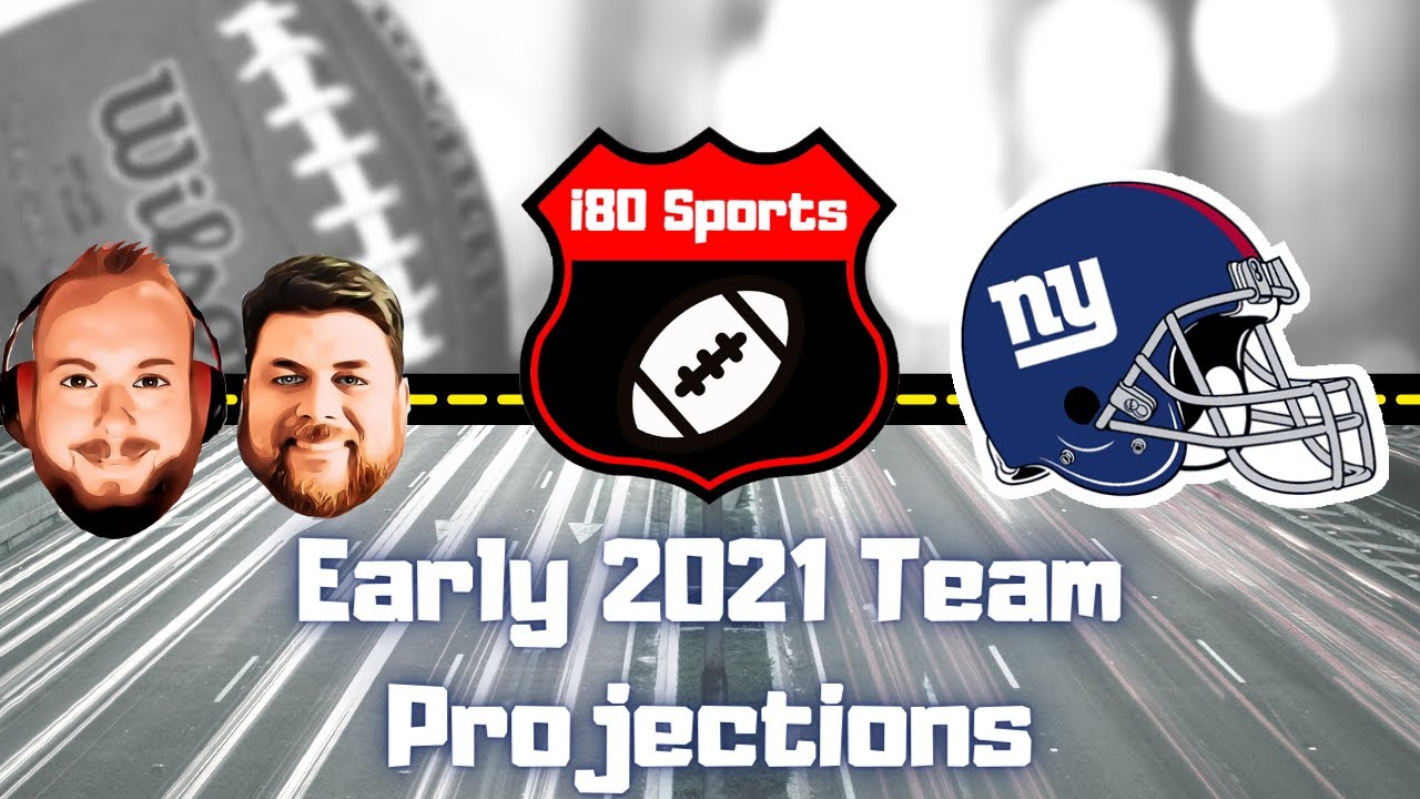 Early 2021 NFL Projections- New York Giants