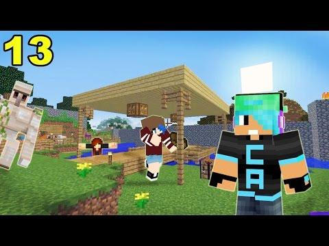 A Minecraft Survival Adventure Series / Episode 13 /Building A Boat Dock!