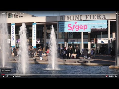 SIGEP (Rimini - ITALY) - See you at 19-23 January 2019