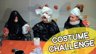 COSTUME CHALLENGE (ft Hannah Hart & Mamrie Hart) // Grace Helbig