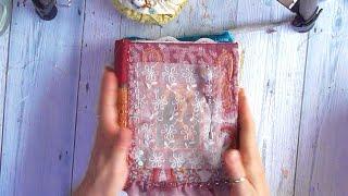 Fabric Journal Flip Through