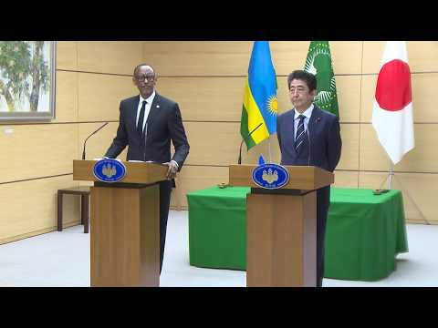 Official Visit to Japan | Press Statements by President Kagame and Prime Minister Shinzo Abe | Tokyo