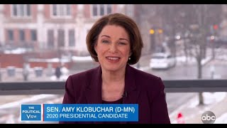 Amy Klobuchar on Post Debate Surge and Violence on Campaign Trail | The View