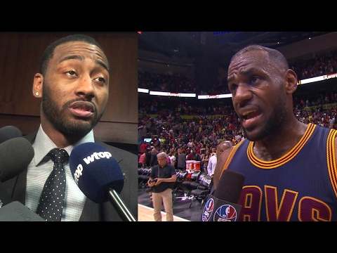 "LeBron James FIRES BACK at John Wall's ""Lucky Shot"" Comments: ""Not For Me!"""
