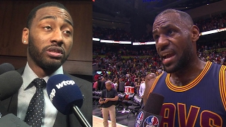 """LeBron James FIRES BACK at John Wall's """"Lucky..."""