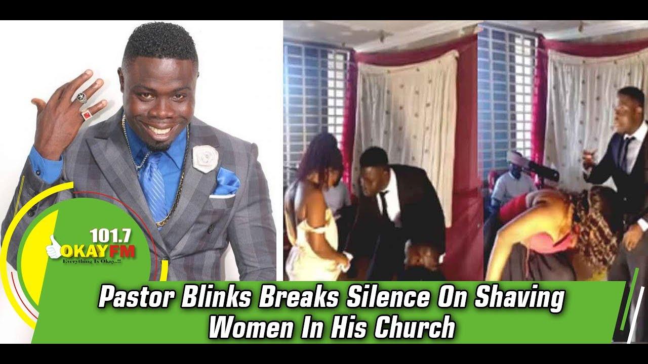Download Pastor Blinks Breaks Silence On Shaving Women In His Church