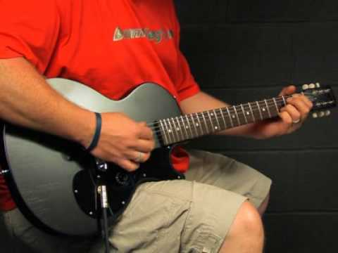 Gibson Melody Maker Les Paul video demo