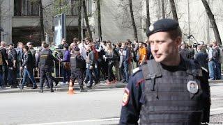видео Во время протестной акции в Краснодаре задержали около 50 человек