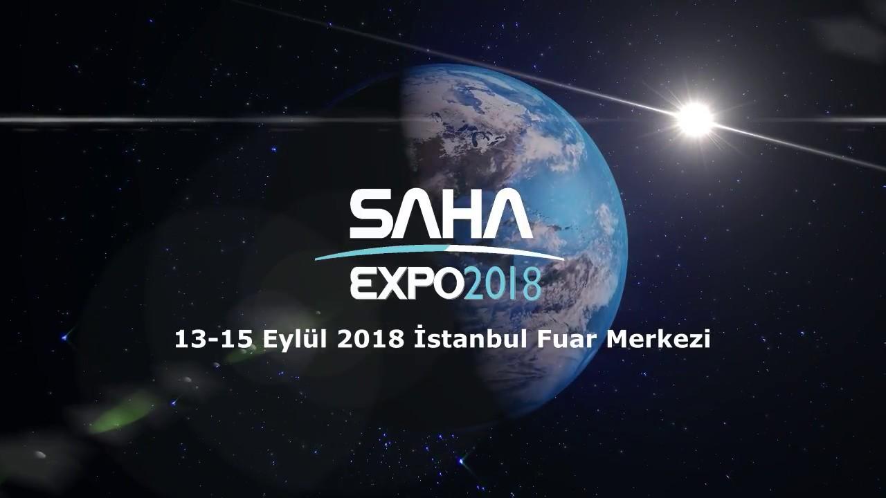 SahaExpo - Savunma, Havacılık ve Uzay Sanayii Fuarı | 13 - 15 Eylül 2018