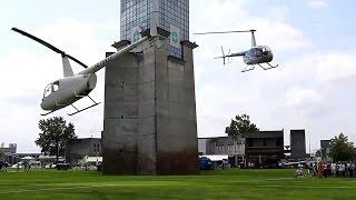 ヘリコプター&防災防犯フェスティバル2016・R44、R66、Ec135t2、S-76