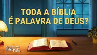 """Filme evangélico """"Rompa as algemas e corra"""" Trecho 2 – Toda a Bíblia é palavra de Deus?"""