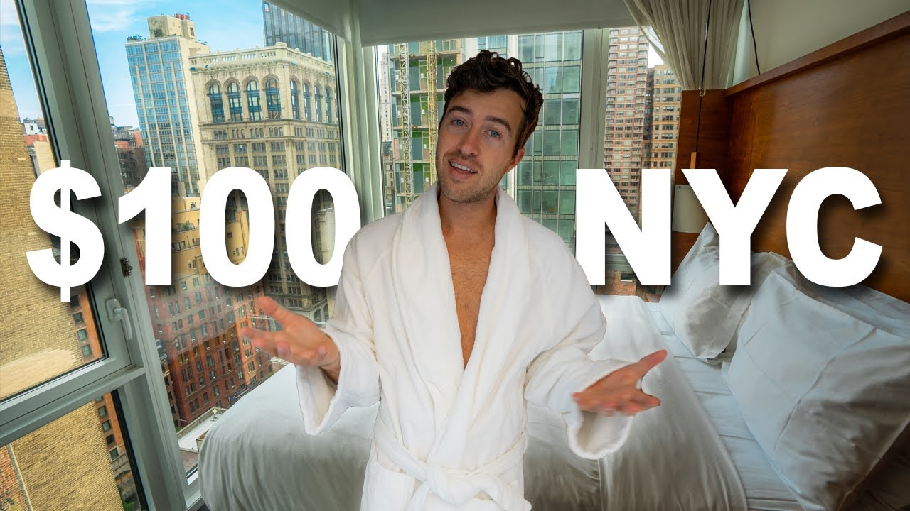 What Can $100 a night in NEW YORK CITY Get!?