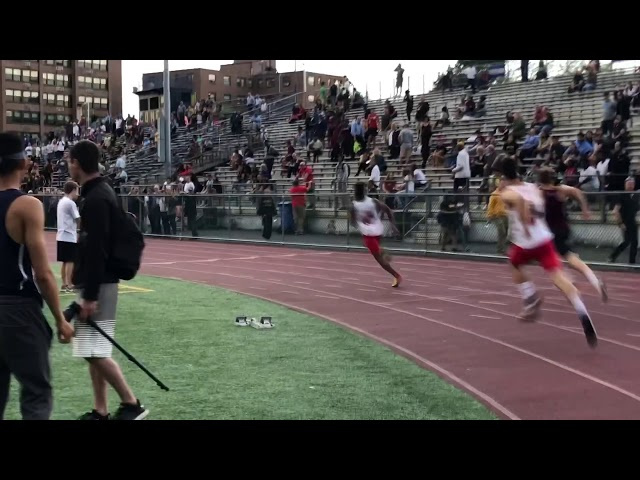 Bergen Catholic's Rahmir Johnson blazes to 200m title at Bergen County Meet of Champions