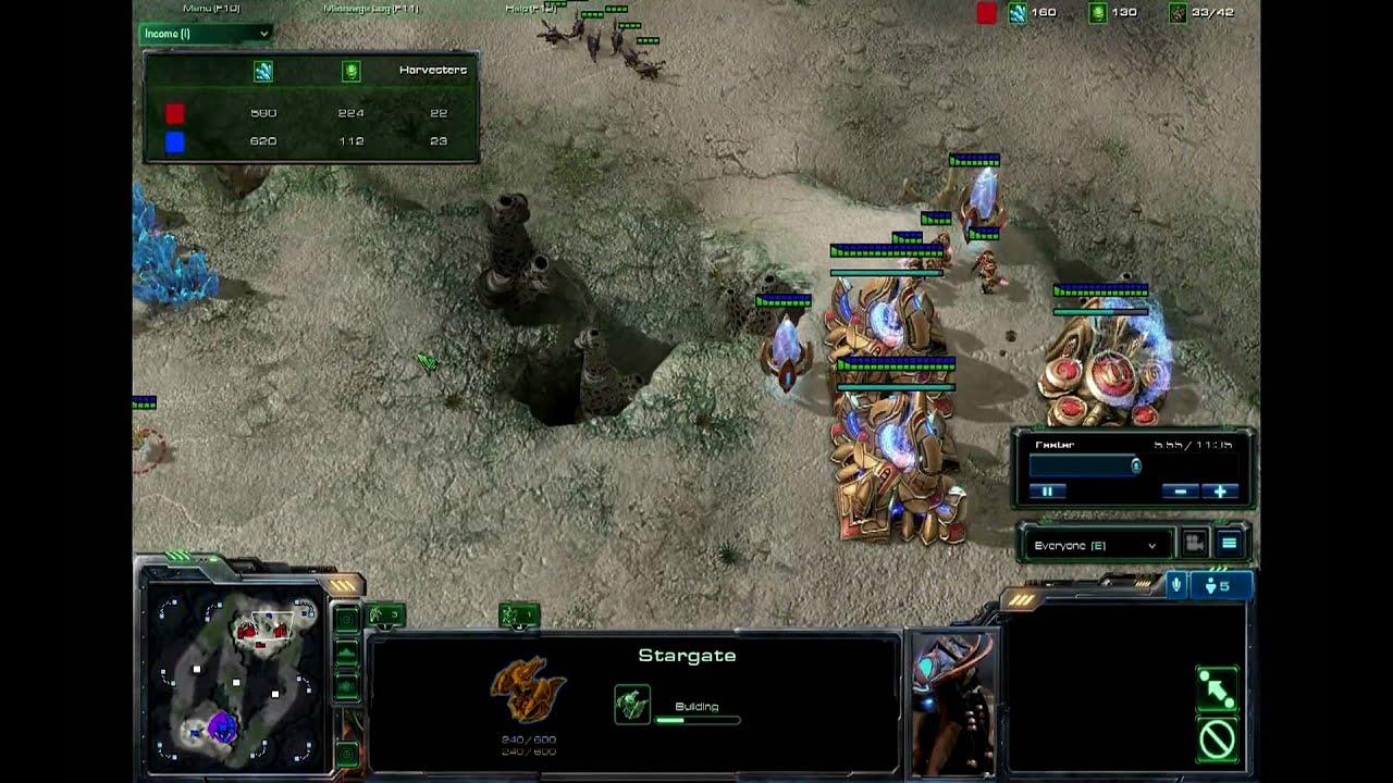 StarCraft 2 Void Ray Rush