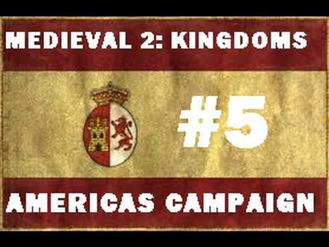 Medieval 2: Kingdoms: Americas: New Spain #5 - The Aztec Empire!