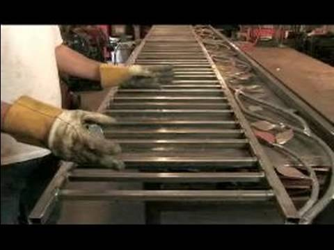 How to Build a Wrought Iron Fence : Gate Patterns When Building a Wrought Iron Fence