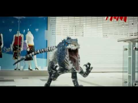 Skillet – The Resistance. (Primeval: Raptor and Theropod).
