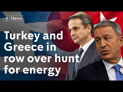 Greece and Turkey accuse each other of breaking the internat
