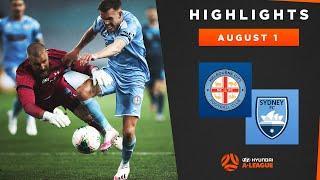 HIGHLIGHTS Melbourne City FC v Sydney FC August 1 2020 Hyundai A League 2019 20 Season