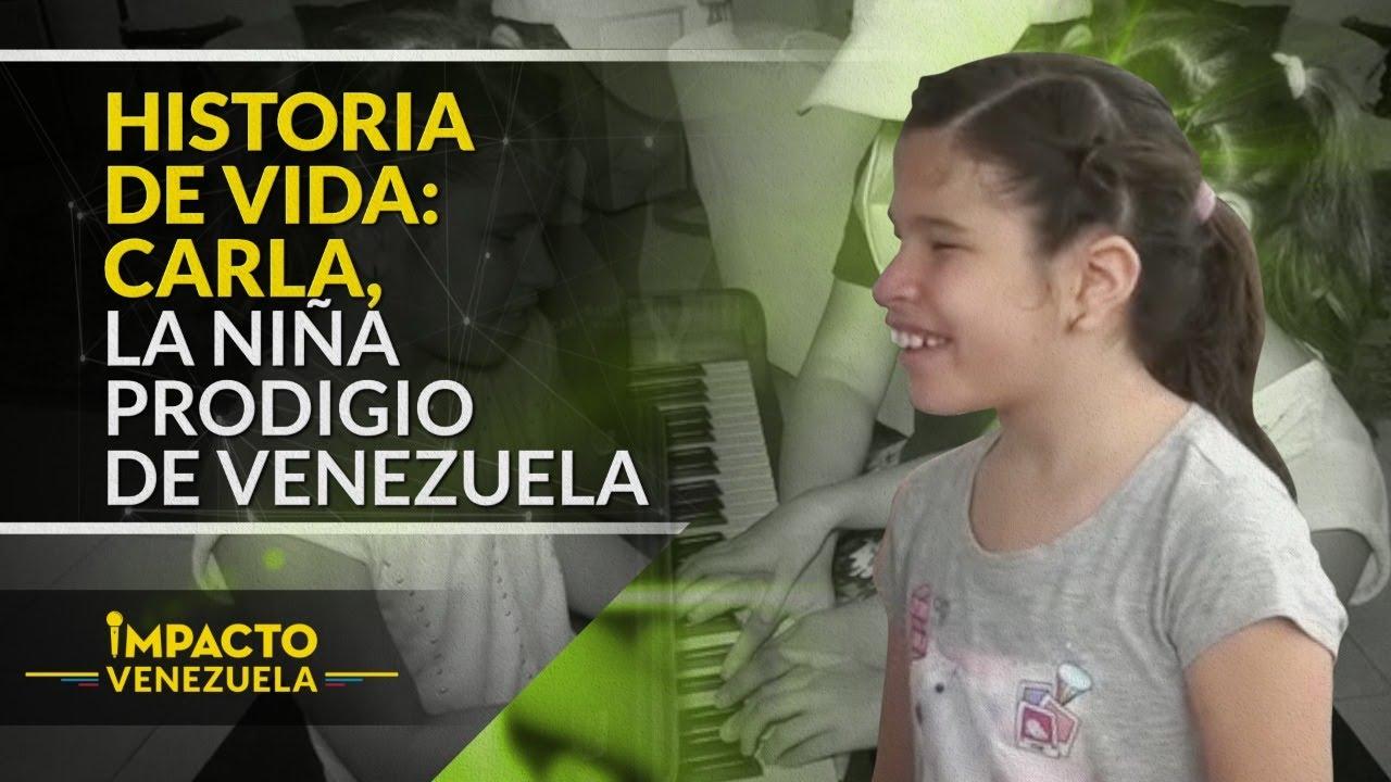 Niña invidente se convierte en prodigio venezolano | Impacto Venezuela