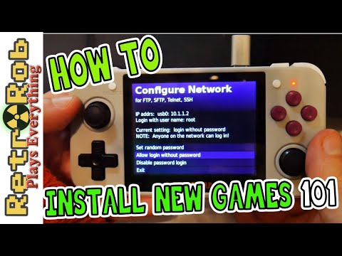 How To Install New Games And Emulator OPK's On The Anbernic RG 350