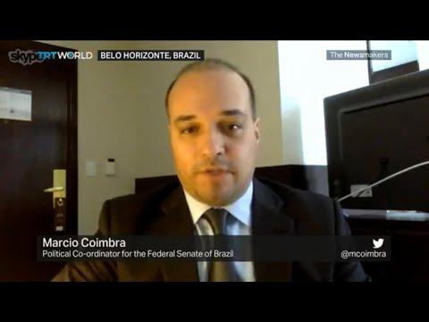 TRT World (Turkey): Marcio Coimbra interview - Brazils corruption scandal