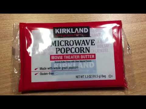 how to make microwave popcron kirkland
