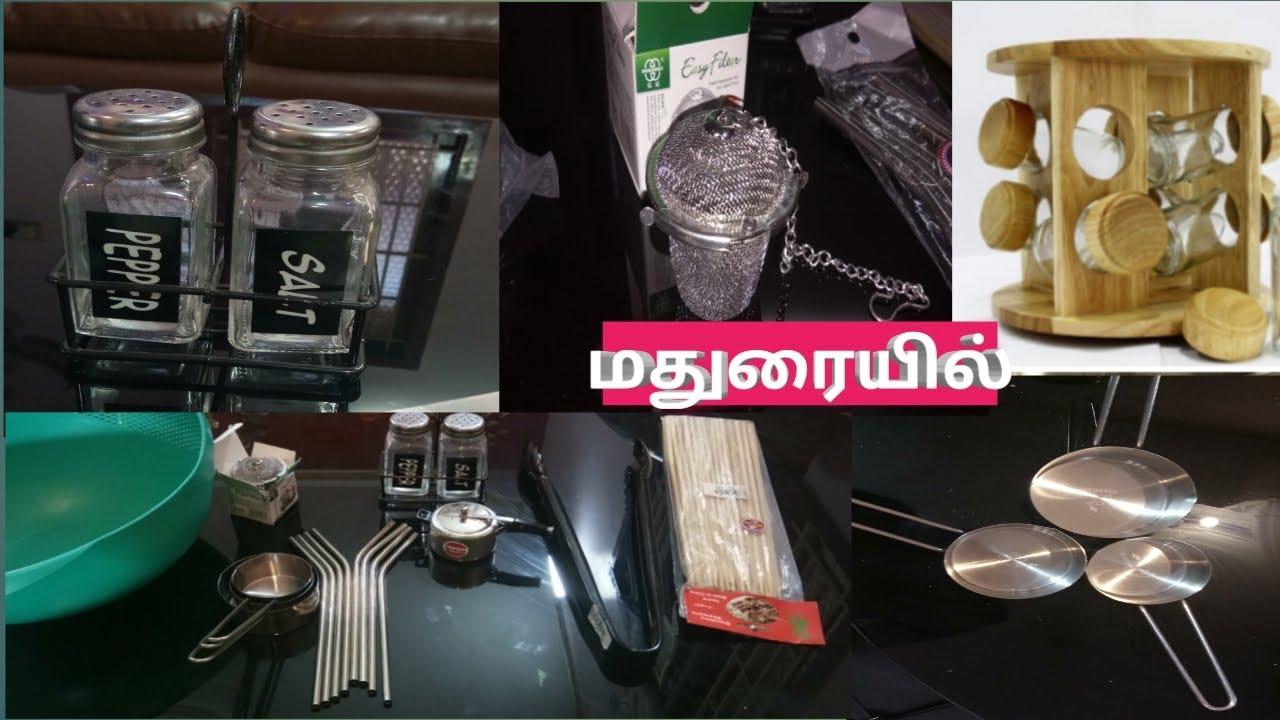 Gunna kitchen Madurai shopping haul video