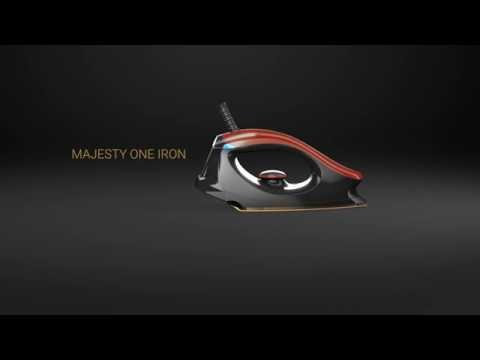 Introducing Bajaj Majesty One Dry Iron with Glide edge Technology