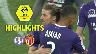 Toulouse FC - AS Monaco (3-3) - Highlights - (TFC - ASM) / 2017-18