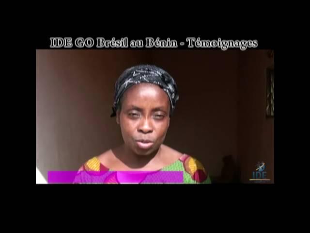 Testemunho Kokou Projeto Benin - IDE GO