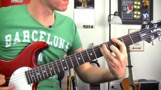 Enter Sandman - Metallica ? How To Play - Easy Guitar Riff Lessons - Riff & Chords Tutorial