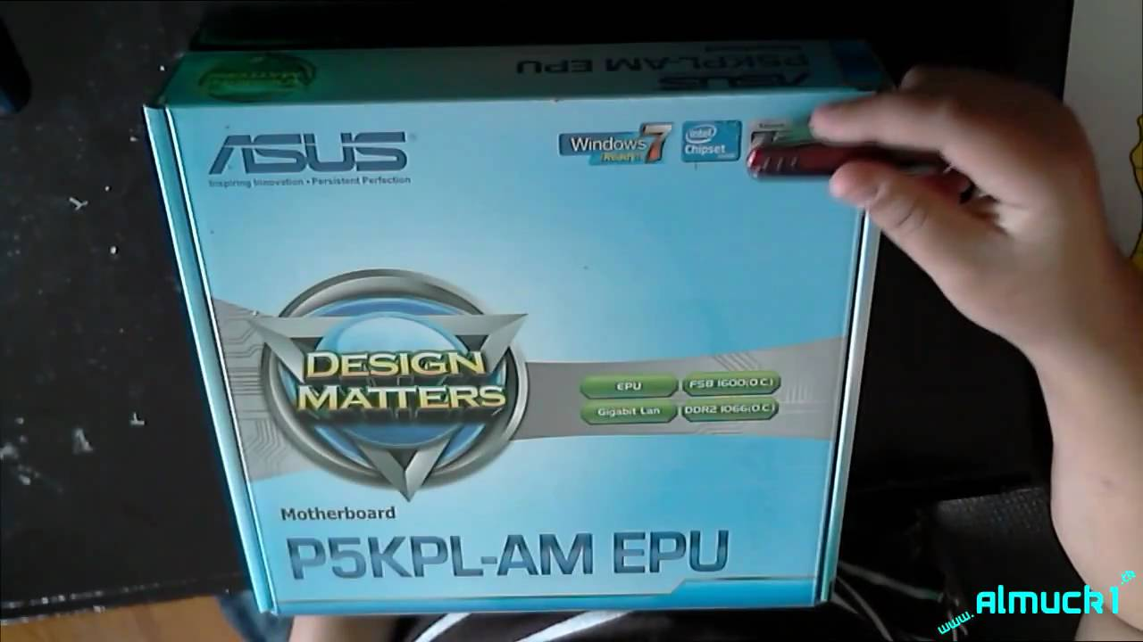 Asus p5kpl drivers