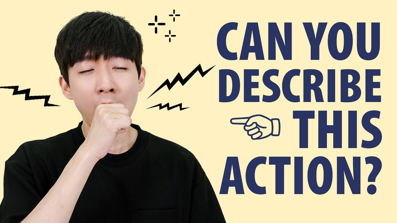 Everyday Actions in Korean - Yawn, Sneeze & Hiccup!