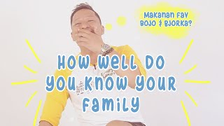 Ringgo ditantang main: How Well Do You Know Your Family MP3