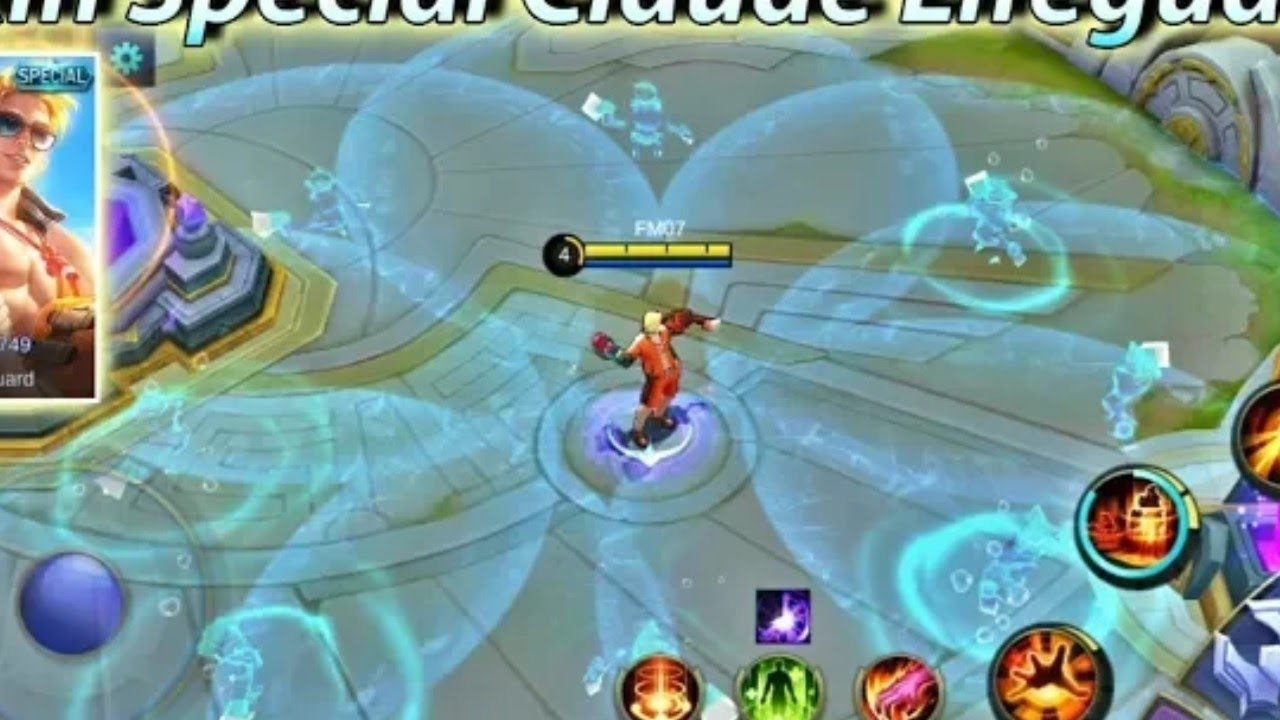 Hướng Dẫn Cách Hack Hồi Chiêu Game Mobile Legends: Bang Bang – Tướng Claude, Skin Special Lifeguard